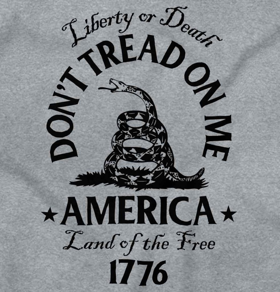 SportGrey2|Dont Tread on Me Junior Fit V-Neck T-Shirt|Tactical Tees