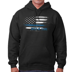 Black|Blue Lives Matter Fade Hoodie|Tactical Tees