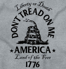 SportGrey2|Dont Tread on Me V-Neck T-Shirt|Tactical Tees