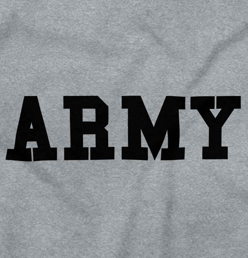 SportGrey2|Army Logo Zipper Hoodie|Tactical Tees