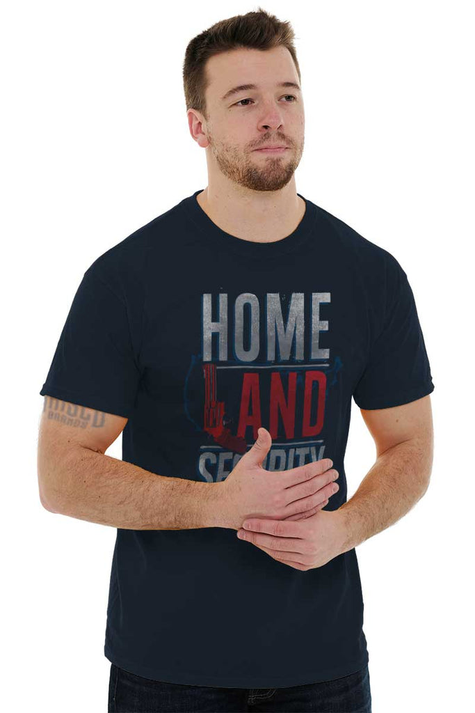 Male_Navy1|Homeland Security T-Shirt|Tactical Tees