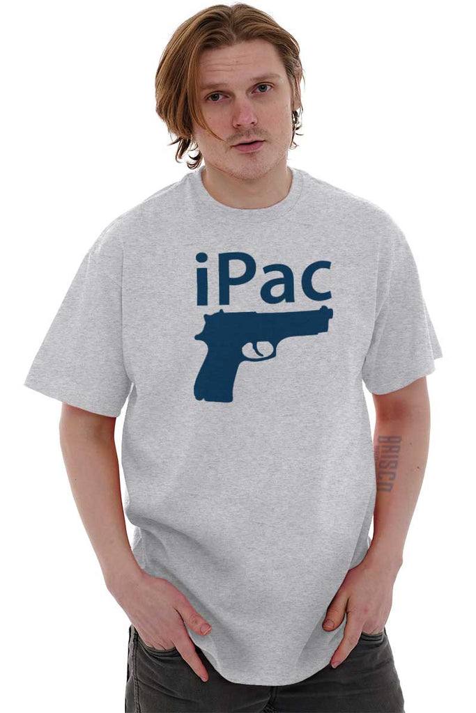 Male_AshGrey2|iPac T-Shirt|Tactical Tees