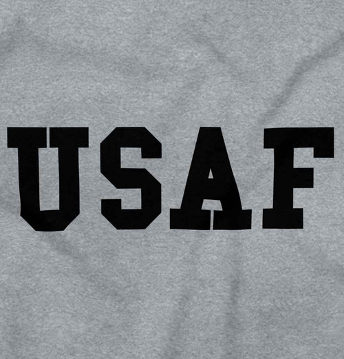 SportGrey2|USAF Logo Sleeveless T-Shirt|Tactical Tees