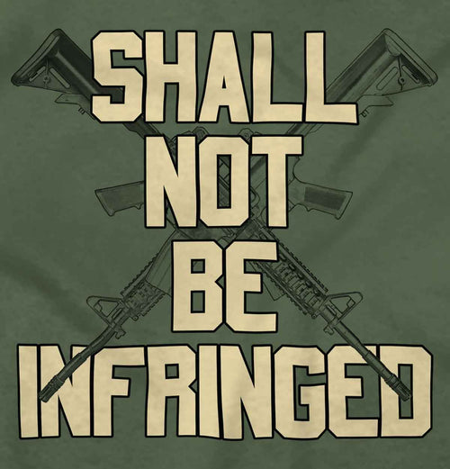 MilitaryGreen|Not Be Infringed T-Shirt|Tactical Tees