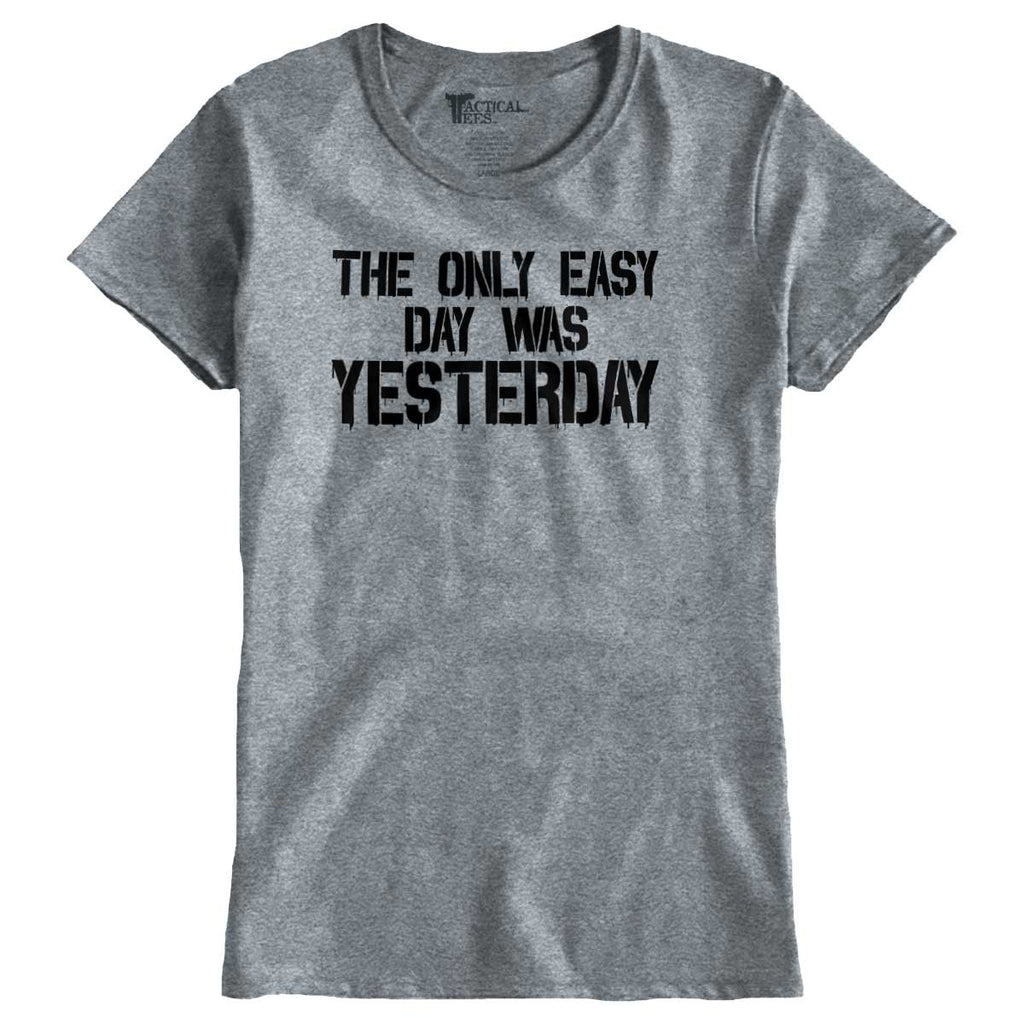 SportGrey|Yesterday Ladies T-Shirt|Tactical Tees
