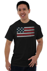 Male_Black1|Bullet Flag T-Shirt|Tactical Tees