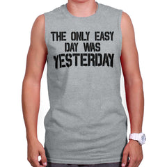 SportGrey|Yesterday Sleeveless T-Shirt|Tactical Tees