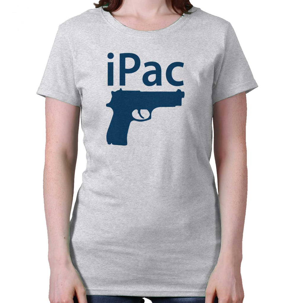 AshGrey|iPac Ladies T-Shirt|Tactical Tees