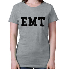 SportGrey|EMT Logo Ladies T-Shirt|Tactical Tees