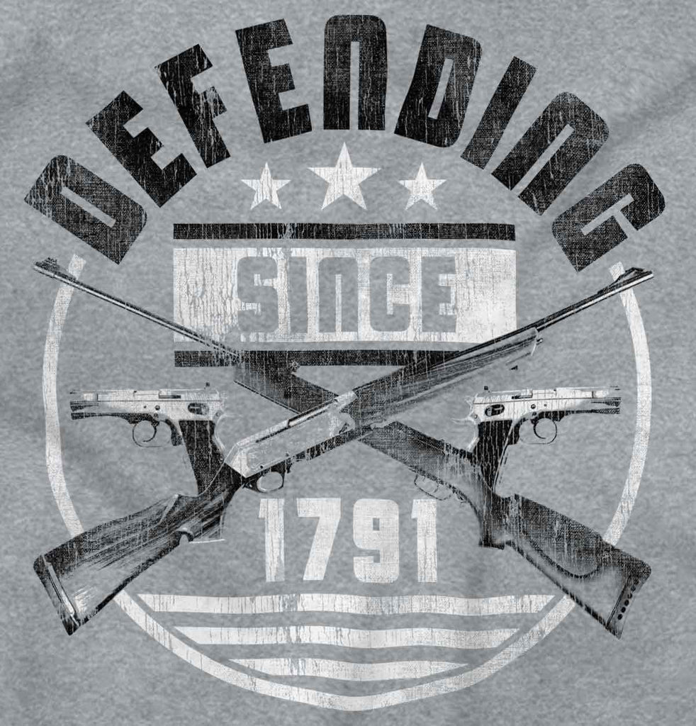 SportGrey2|Defending Since Junior Fit V-Neck T-Shirt|Tactical Tees