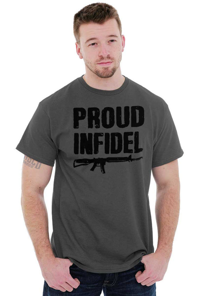 Male_Charcoal1|Proud Infidel T-Shirt|Tactical Tees
