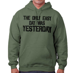 MilitaryGreen|Yesterday Hoodie|Tactical Tees
