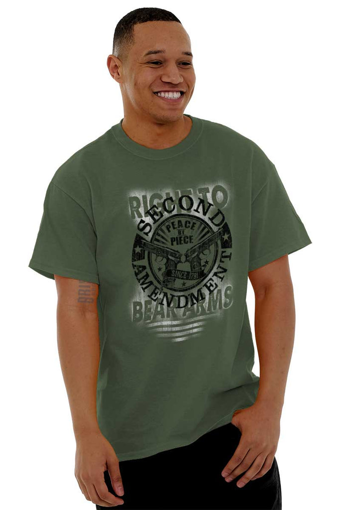 Male_MilitaryGreen2|Right To Bear Arms  AMaledMalet T-Shirt|Tactical Tees