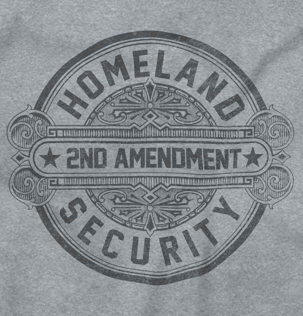SportGrey2|Homeland Security  AMaledMalet Junior Fit V-Neck T-Shirt|Tactical Tees