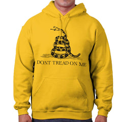 Gold|Don't Tread On Me Hoodie|Tactical Tees