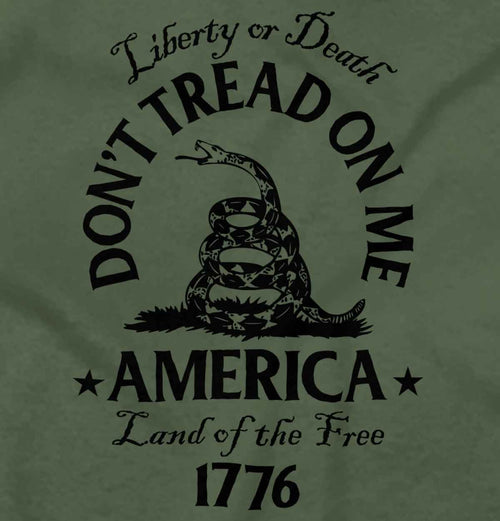 MilitaryGreen2|Dont Tread on Me Hoodie|Tactical Tees
