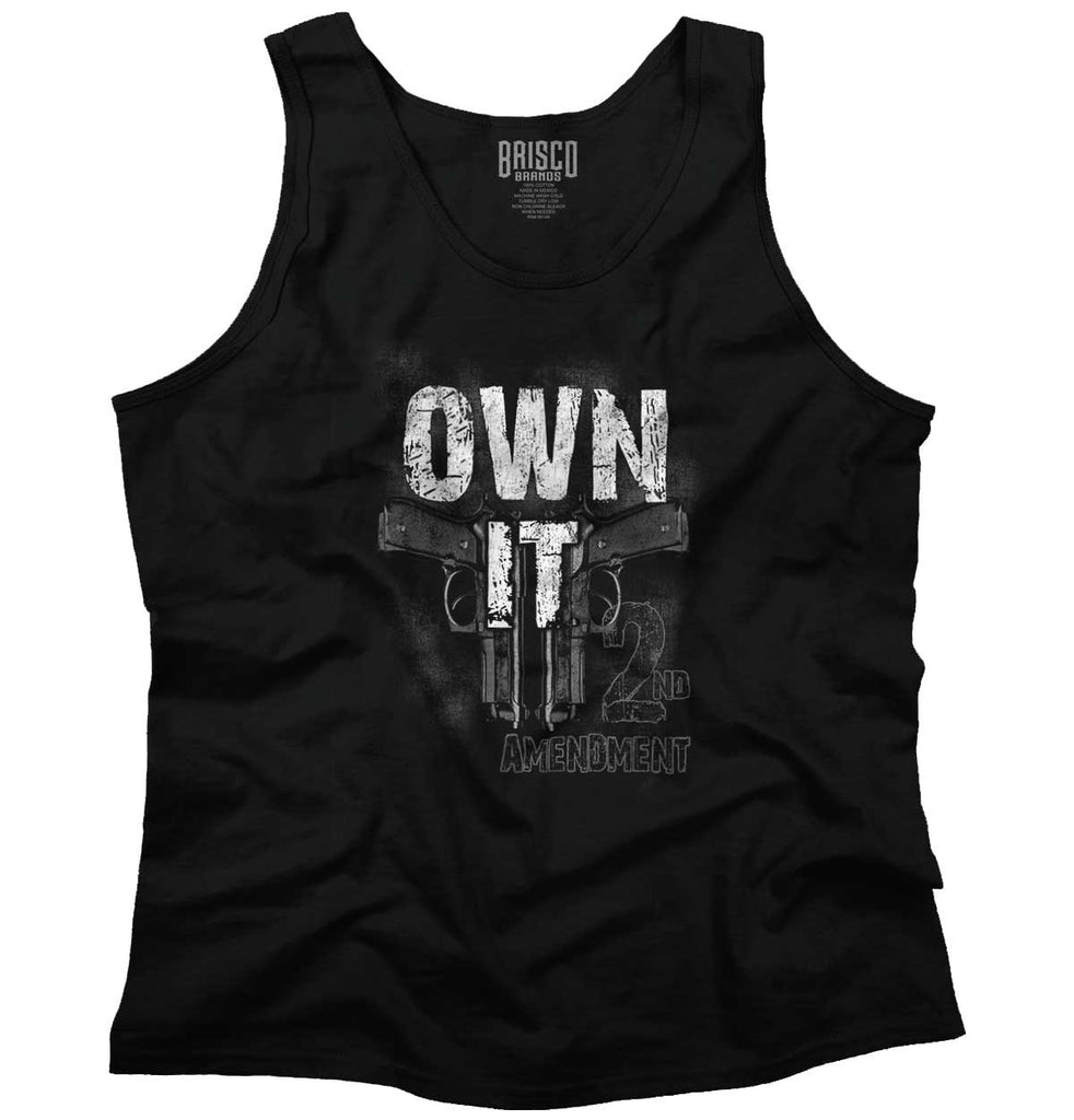 Black|Own It  AMaledMalet Tank Top|Tactical Tees