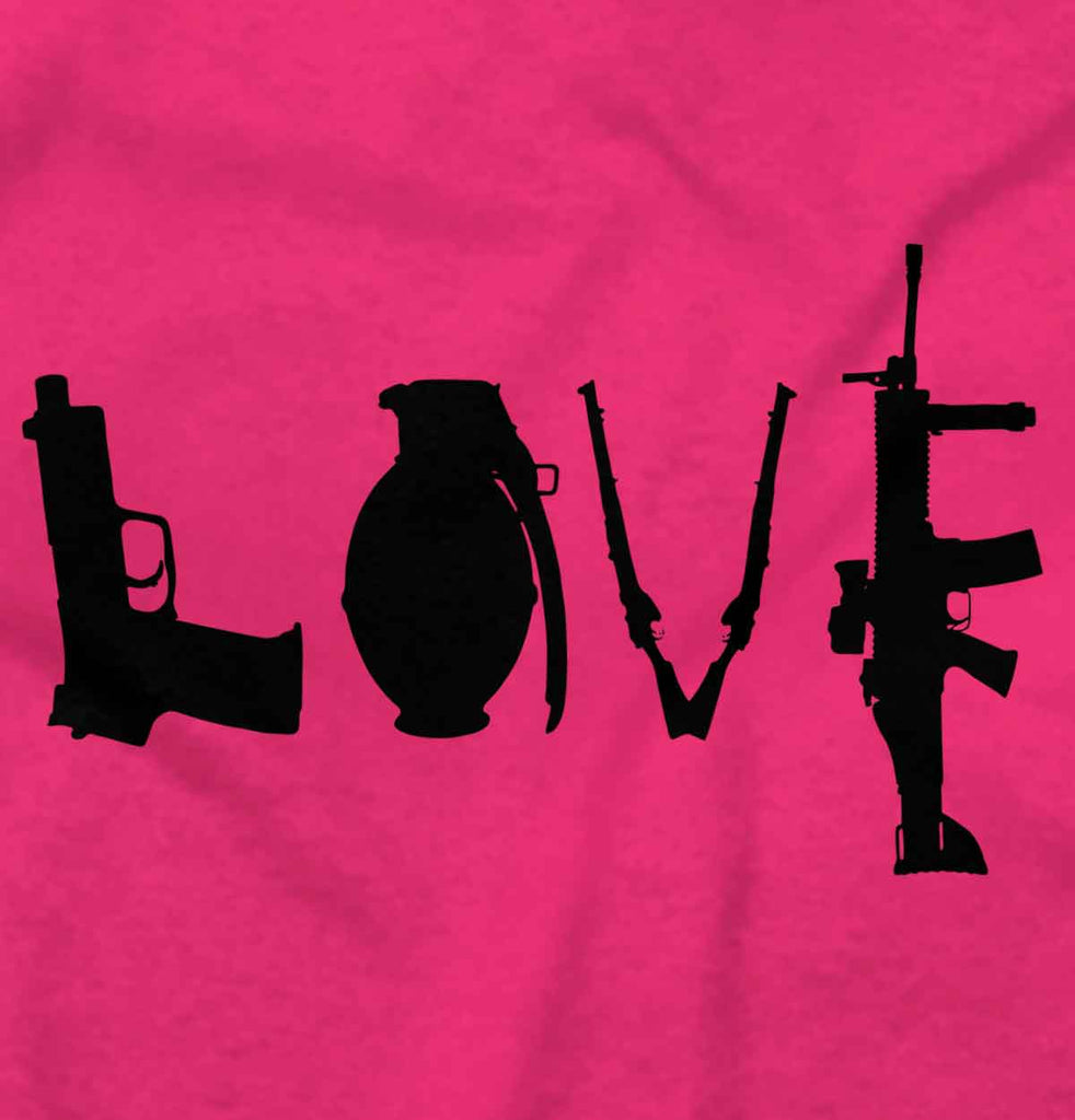 Heliconia2|Gun Love Ladies T-Shirt|Tactical Tees
