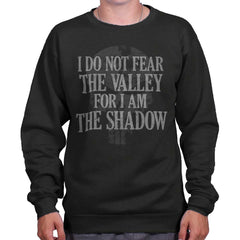 Black|I Am the Shadow Crewneck Sweatshirt|Tactical Tees