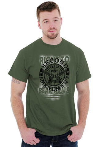 Male_MilitaryGreen1|Right To Bear Arms  AMaledMalet T-Shirt|Tactical Tees