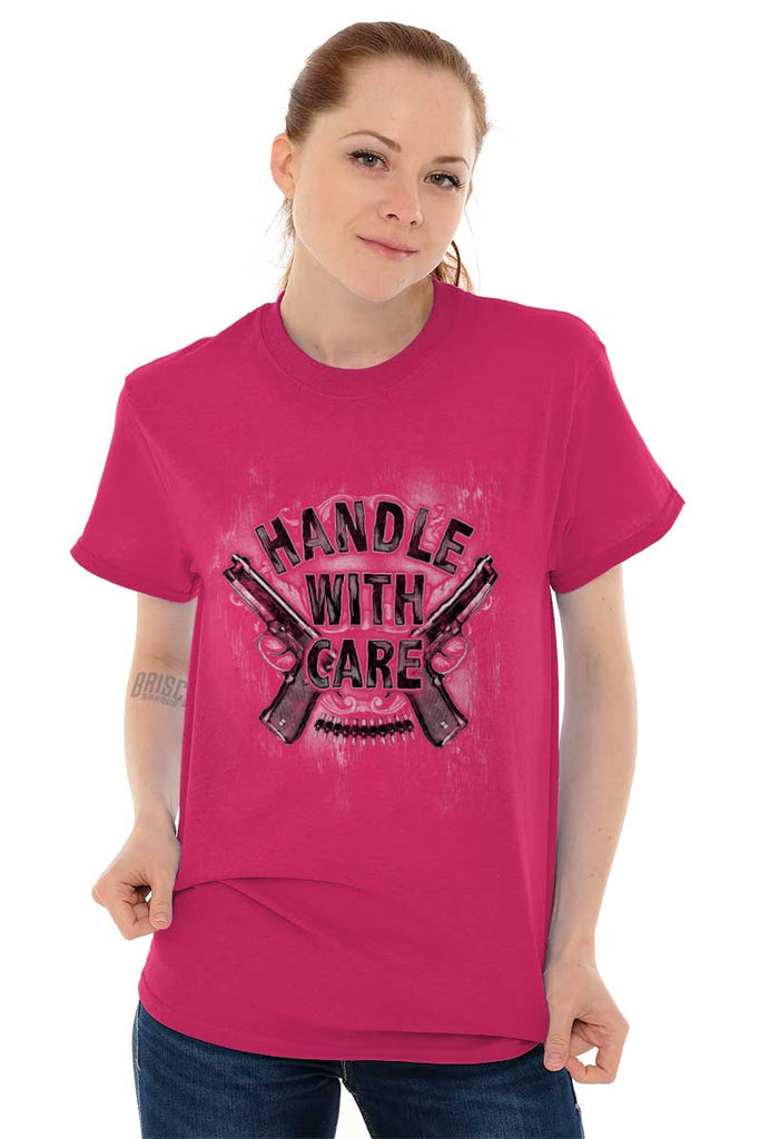 Female_Heliconia1|Handle With Care T-Shirt|Tactical Tees
