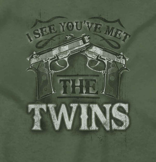 MilitaryGreen2|I See Youve Met The Twins Hoodie|Tactical Tees
