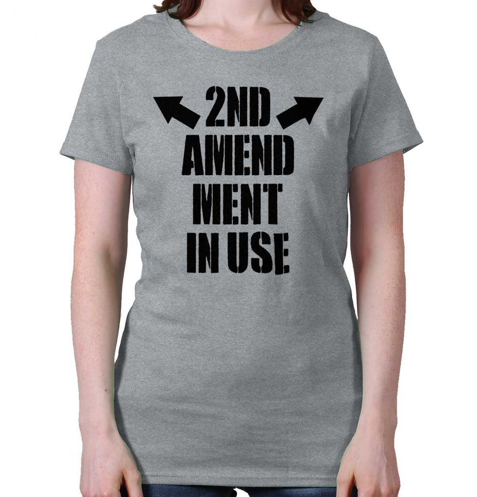 SportGrey| AMaledMalet in Use Ladies T-Shirt|Tactical Tees