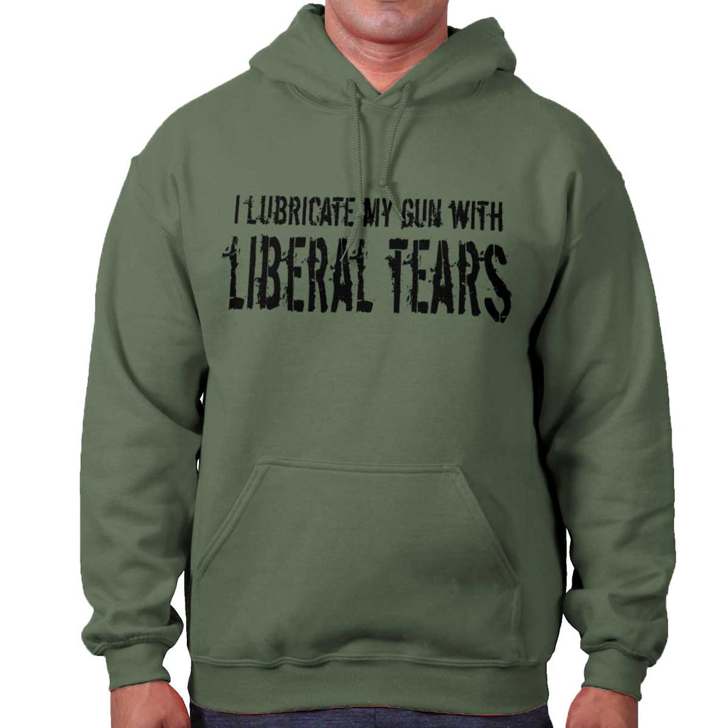 MilitaryGreen|Liberal Tears Hoodie|Tactical Tees