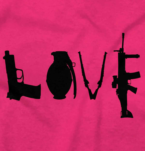 Heliconia|Gun Love T-Shirt|Tactical Tees