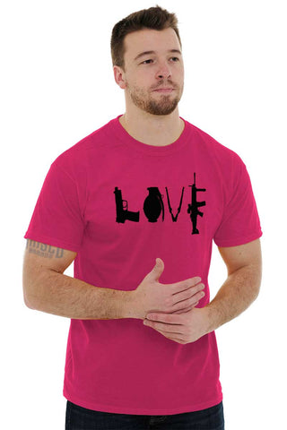 Male_Heliconia1|Gun Love T-Shirt|Tactical Tees