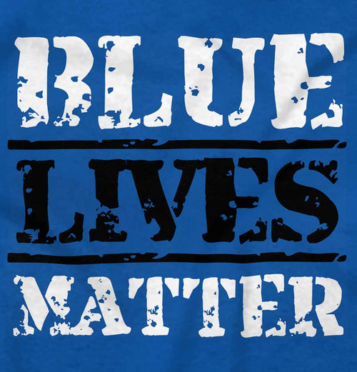Royal|Blue Lives Matter Bold T-Shirt|Tactical Tees
