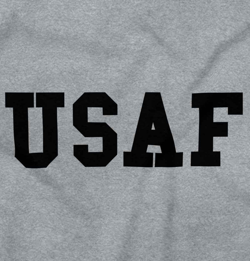 SportGrey2|USAF Logo Junior Fitted V-Neck T-Shirt|Tactical Tees
