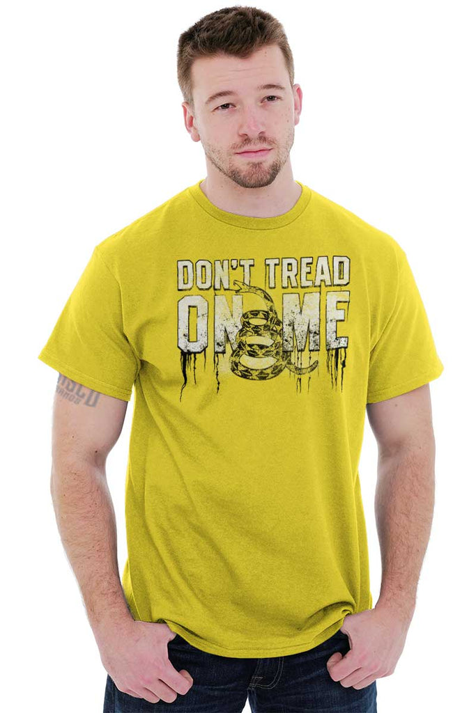Male_Daisy1|Dont Tread on Me T-Shirt|Tactical Tees