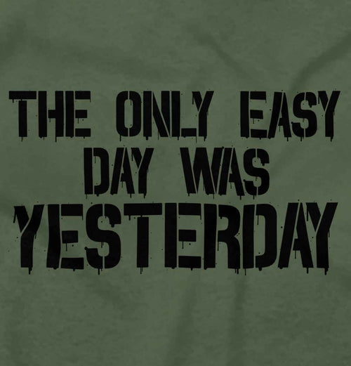 MilitaryGreen|Yesterday T-Shirt|Tactical Tees