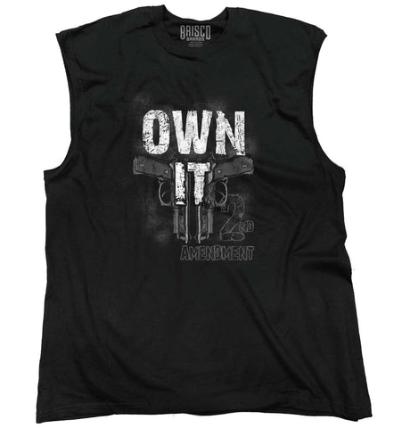 Black|Own It  AMaledMalet Sleeveless T-Shirt|Tactical Tees