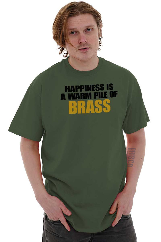 Male_MilitaryGreen1|Pile of Brass T-Shirt|Tactical Tees