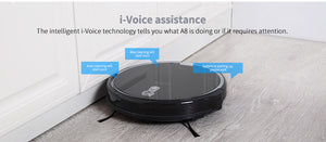 Ilife New Product A8 Robotic Vacuum Cleaner With Camera Navigation