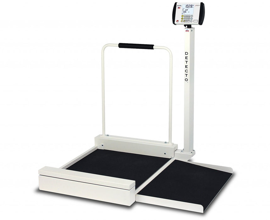 Detecto 6495 Stationary Wheelchair Scale - New
