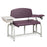 Clinton 66002B Lab X Series, Bariatric, Blood Drawing Chair with Padded Flip Arm and Drawer - New