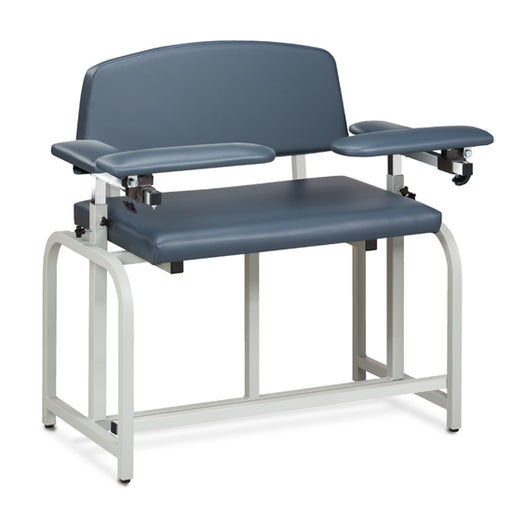 Clinton 66099B Lab X Series, Bariatric, Extra-Tall, Blood Drawing Chair with Padded Arms - New