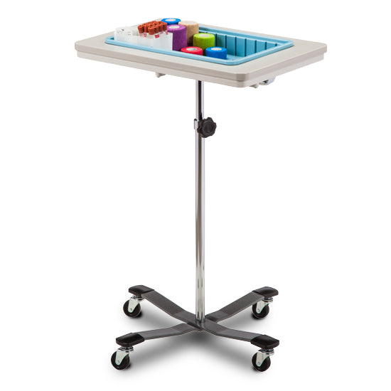 Clinton 6902 Two-Bin Mobile Phlebotomy Stand - New