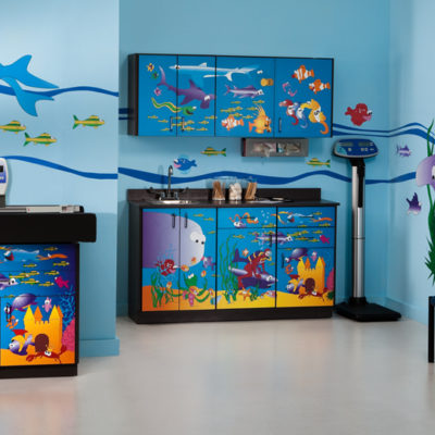 Clinton 7836-X Ocean Commotion Complete Pediatric Room - New