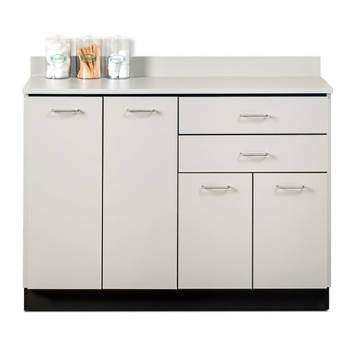 Clinton 8048 Base Cabinet with 4 Doors and 2 Drawers