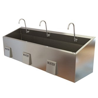 Mac Medical ES76 Triple Station Surgical Scrub Sink