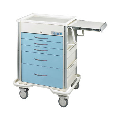 MPD Medical SELECT Series Anesthesia/Treatment Carts W/ Electronic Lock - New