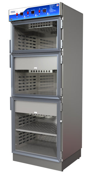 Mac Medical Data Logging Triple Chamber Warming Cabinets