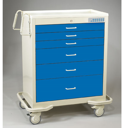 MPD Medical Wide Carts W/ Electronic Lock - New