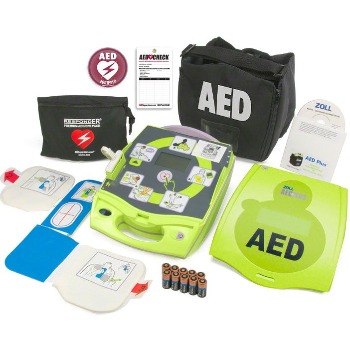 Zoll AED Plus Package Automated External Defibrillator
