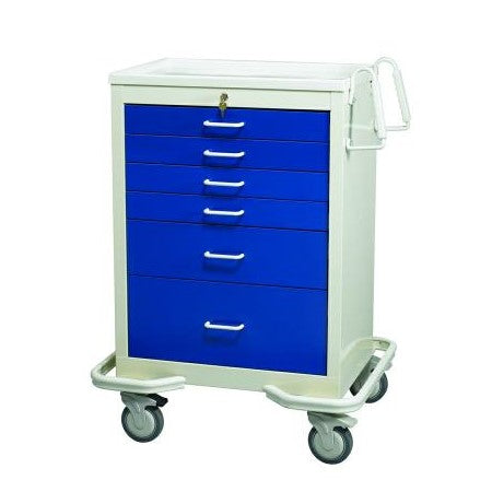 MPD Key Lock Anesthesia Cart - New