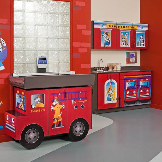 Clinton 7833-X Engine K-9 Complete Pediatric Room